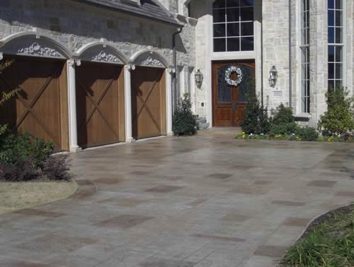 stamped concrete Plano, TX