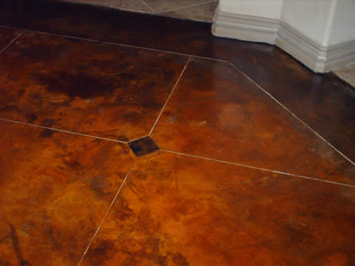 Why acid stained floors are so popular