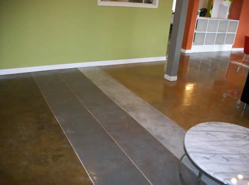 self-leveling concrete overlay San Marcos, TX